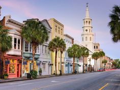 CHARLESTON, SOUTH CAROLINA: Travel + Leisure voted Charleston the best city in America this year, and with good reason. The historical city is home to impeccably landscaped gardens, old mansions and carriage houses, and amazing waterfront views.