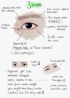 J-Hope's eyes