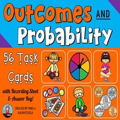 Outcomes and Probability Task Cards $