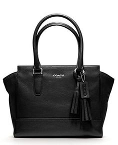COACH LEGACY LEATHER CANDACE CARRYALL - Tote Bags - Handbags & Accessories - Macy's