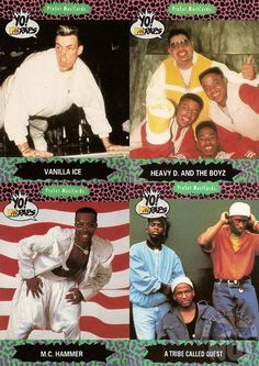 YO! Mtv Raps Trading Cards | Music Television