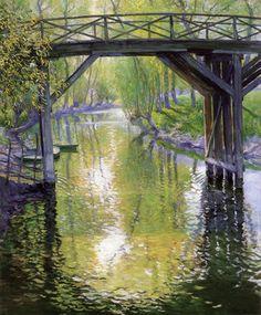 The Old Bridge, France  Guy Orlando Rose