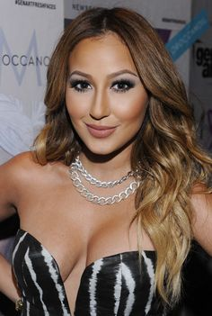 Actress Adrienne Bailon attends the GenArt 14th Annual Fresh Faces In Fashion Presented By Moroccanoil on September 9, 2012 in New York City.