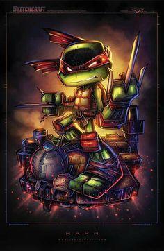 Raphael | TMNT •Rob Duenas (SketchCraft)