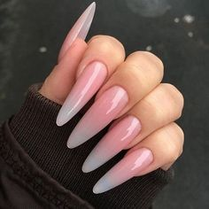 ♡ ♡ coffin nails, acrylic nails, nails, stiletto nails, a Long Almond Nails, Almond Acrylic Nails, Cute Acrylic Nails, Long Nails, Cute Nails, Pretty Nails, Glitter Nails, How To Beach Waves, Exotic Nails