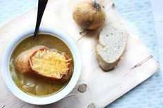 Zelf maken: uiensoep #homemade #uiensoep #unionsoup