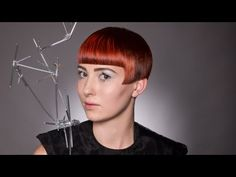 How to cut short hair by Tim Hartley -- #Firefly Abstraction #DAVINES #SASSOON