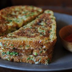 Savory french toast...sounds interesting. I must try it immediately