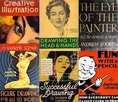 Aprende a ilustrar con los libros de Andrew Loomis
