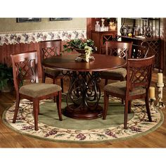 Grapes Napa Border Round Area Rugs - Round or Rectangle rugs - Touch of Class.com
