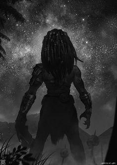 Female predator——Yearner, mist XG on ArtStation at https://www.artstation.com/artwork/ZOLdm