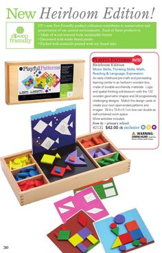 ISSUU - Discovery Toys - Catalogue - Canada by Discovery Toys Discovery Toys, Dream Kids, Wood Source, Kids Play Area, Made Of Wood, Pre School, Educational Toys, Kids Playing, Toy Chest