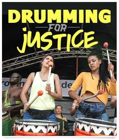 Drumming For Justice, Cape Town | Greenpeace Africa