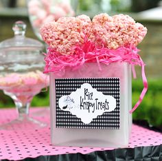 Adorable Pink & Polka Dots Eloise Birthday Party