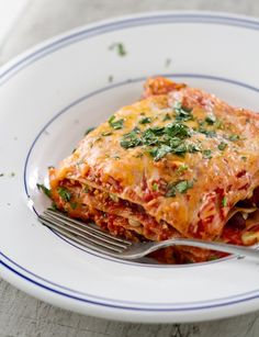mexican lasagna - we used regular noodles instead of no bake ones, both of us enjoyed this meal