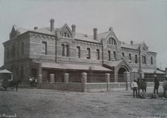 Estacion de Ferrocarril de San Lazaro. Construido hacia 1890. A. Briquet.