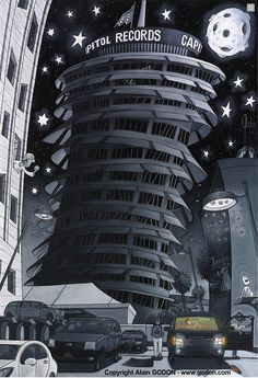 Capitol Records by artist, Alain Godon.