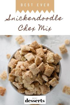 Get ready to take Movie Night to the next level with this Snickerdoodle Chex Mix recipe! Just like the classic cookie but in addicting chex mix form!