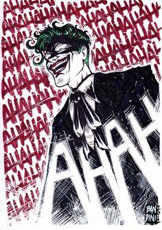 Joker warm-up by michelebandini on DeviantArt