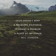 #FaithIsNotInDenial!
