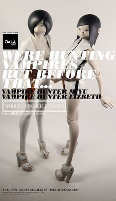 "GALAMILK 24"" tall The World Of Isobelle Pascha 