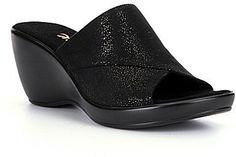 Onex Deena Elastic Wedge Sandals