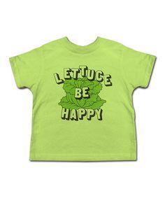 Key Lime 'Lettuce Be Happy' Tee (kids)