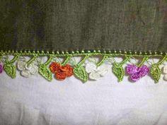 Bicos de crochê - um montão (página em Turco)