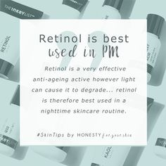 How to use retinol. First step my friend - be sure you're using retinol at night. Light can use up retinol meaning your skincare won't be so active. Click the to find a fab budget retinol und Skin Tips, Skin Care Tips, Natural Hair Mask, Natural Skin, Natural Beauty, Asian Beauty, Skin Tag Removal, Makes You Beautiful, Hey Gorgeous