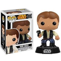 Buy Star Wars Han Solo Pop! Vinyl Figure from Pop In A Box UK, the home of Funko Pop Vinyl subscriptions and more. Worldwide delivery available!