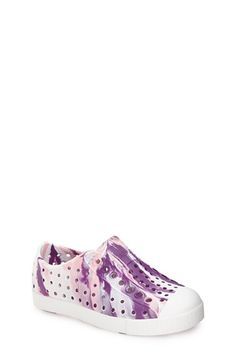Native Shoes 'Jefferson - Marbled' Perforated Slip-On (Baby, Walker, Toddler & Little Kid) | Nordstrom