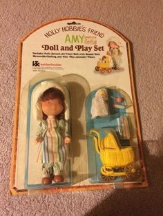 Holly Hobbie's Friend Amy Doll And Play Set! In Original Packaging!