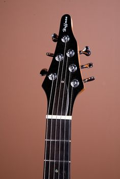 Hoffman Guitars headstock