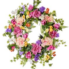 All Dressed Up Spring Wreath (SW607)