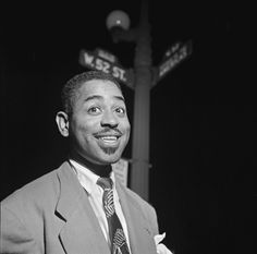 Dizzy Gillespie in New York City, late Forties.
