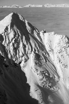 Big #mountains and #powder - unbeatable combination. #scott2luvit Photo: Revi Blong