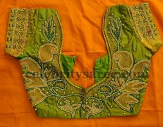 Latest Embroidered Blouse Designs | Saree Blouse Patterns