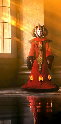 Queen Amidala. I love this picture because it shows how ...