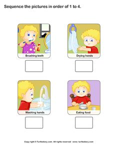 Personal Hygiene-Worksheet 1-TurtleDiary.com
