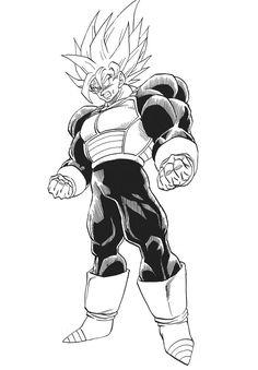 Super Saiyan 3rd Grade Goku