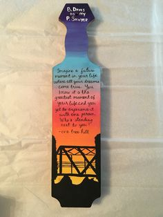 one tree hill paddle sorority paddle one tree hill bridge sunset quote oth