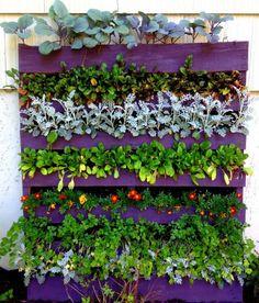 Ideas #DIY para reutilizar #palets en el jardín