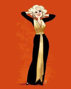 Dress, Yves Saint Laurent, 1980s (via omgthatdress ) http://drawthisdress.tumblr.com