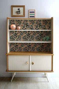 Vintage Bookshelf – Vintage Home Decor Upcycled Home Decor, Repurposed Furniture, Vintage Furniture, Painted Furniture, Diy Home Decor, Upcycled Crafts, Room Decor, Furniture Makeover, Diy Furniture