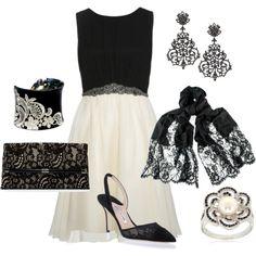 Little Mistress Cocktail Party dress cream ✯ ωнιмѕу ѕαη∂у