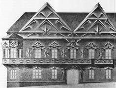 Janak 1913 Havlickuv Brod by calypsospots, via Flickr Amsterdam, World War One, Modernism, Prague, Civilization, Modern Architecture, Louvre, Paris, Deco