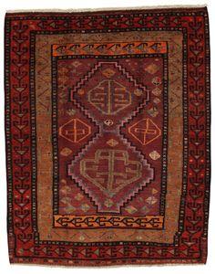 Afshar - Sirjan Persian Carpet 175x140