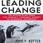 John Kotter, the world's foremost expert on business leadership, distills 25 years of experience into Leading Change. A must-have for any organization, this visionary and very personal audiobook is at once inspiring, clear-headed, and filled with important implications for the future. Kotter identifies an eight-step process that every company must go through to achieve its goal, and shows where and how people-good people-often derail.