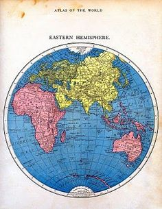 Vintage Printable - Map of the World - Part 2 - The Graphics Fairy (scheduled via http://www.tailwindapp.com?utm_source=pinterest&utm_medium=twpin&utm_content=post988343&utm_campaign=scheduler_attribution)