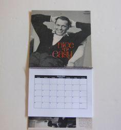 FRANK SINATRA Wall Calendar 2014  Record Album by RecordsAndStuff, $10.00
